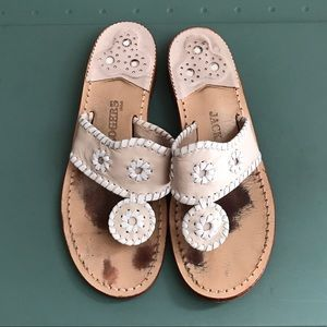 Whipstitched Jack Rogers